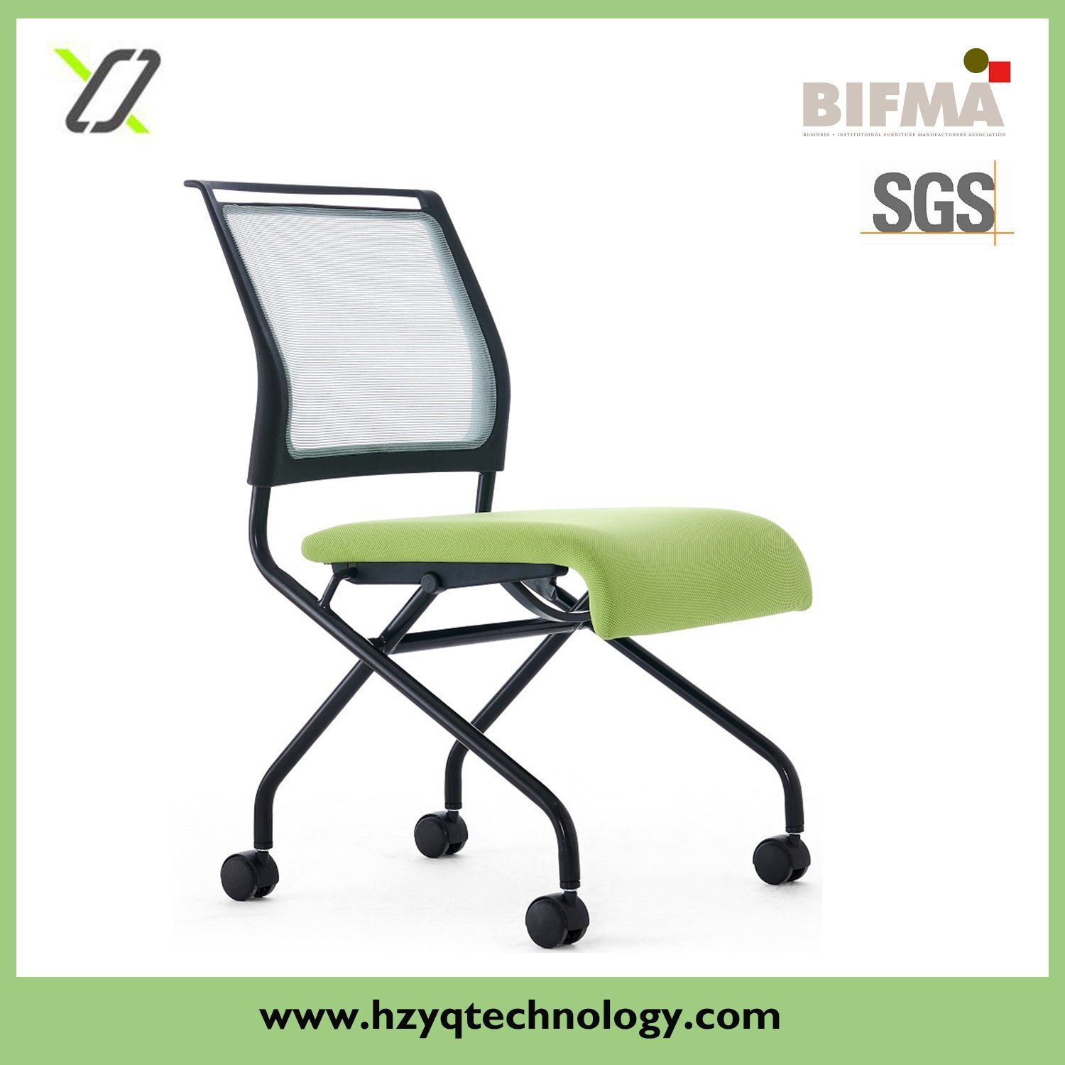 Stackable Training Swivel Office Chair