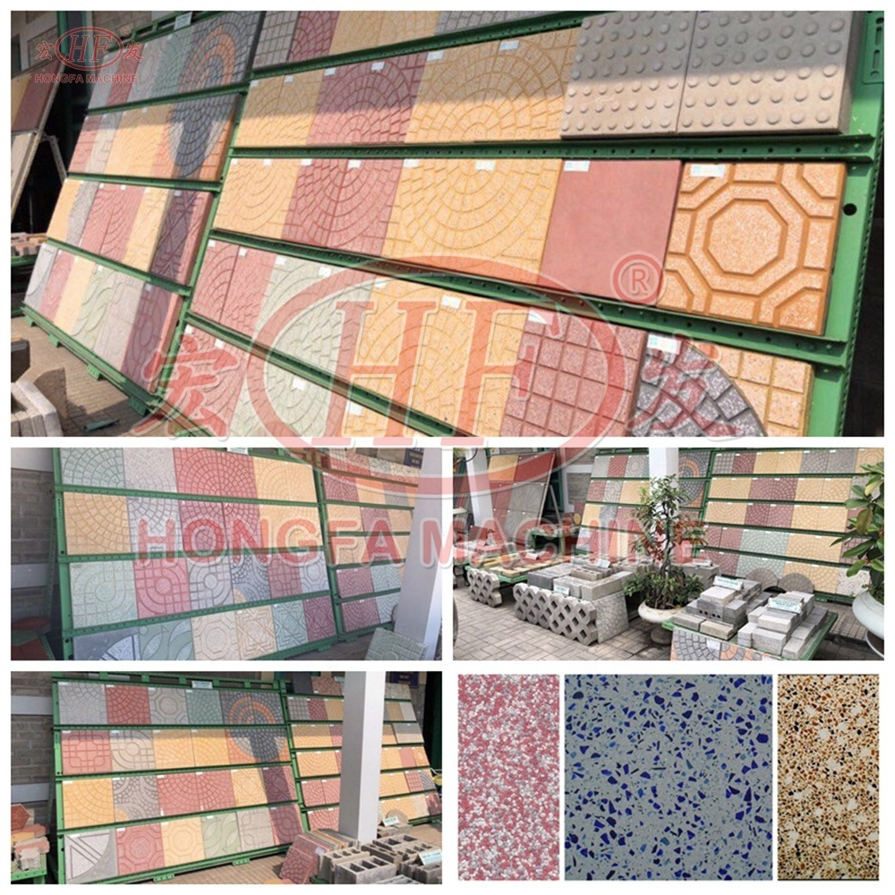 Hot Item Automatic Competitive Ceramic Terrazzo Floor Tiles Making Machine Price In China Factory Price