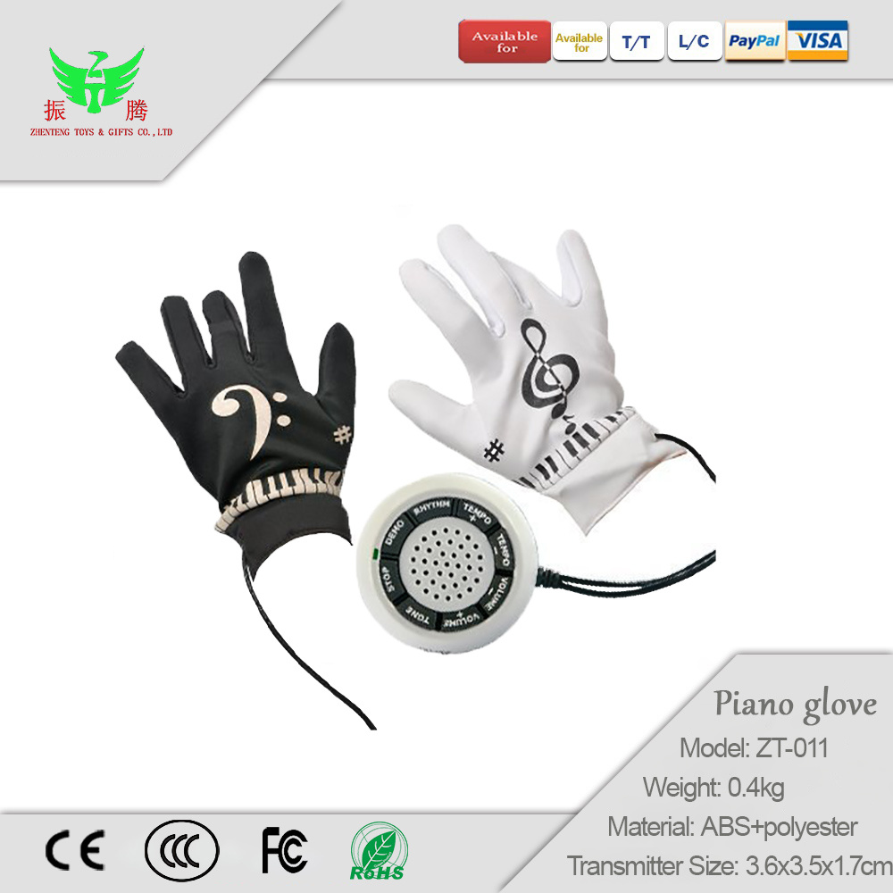 [Hot Item] Electronic Piano Gloves Children Toy Music Gloves Pronunciation  Gloves