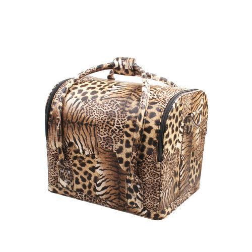 0a2f9d039b70 China Hot Sale Leopard Print Lady Beauty Handbag Cosmetic Case (HB ...