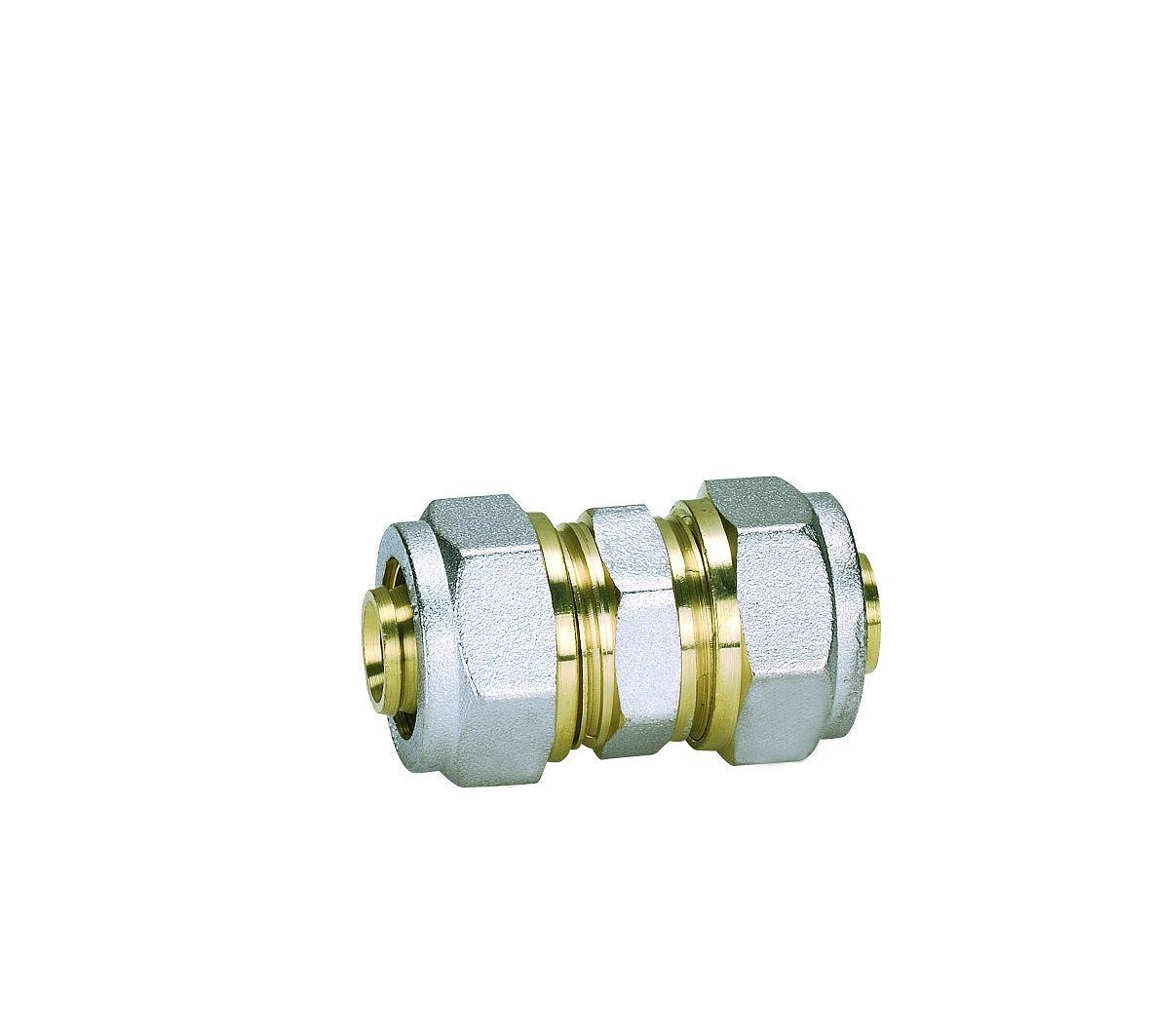 Brass Fittings for Pex-Al-Pex Pipe _Equal Straight Connector (Hz8019)