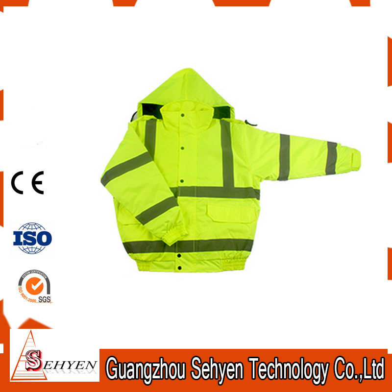 High Visibility Workwear Reflective Safety Jacket