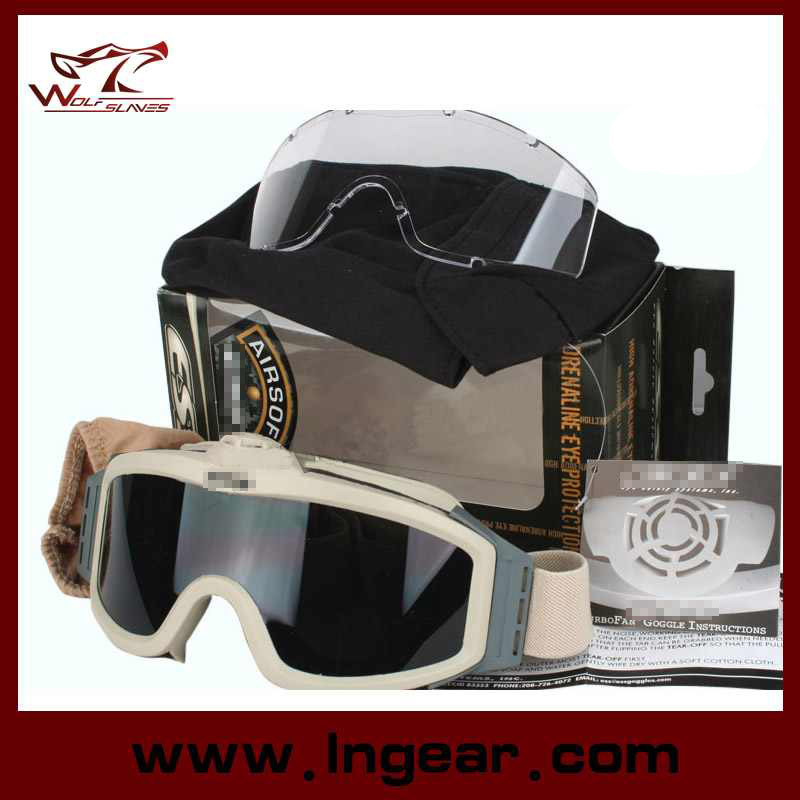618d781374e Es Crossbow Shooting Tactical Goggles Glasses Protective Goggles Airsoft  Goggle