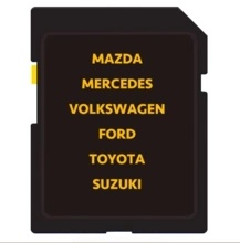 China Changeable Cid SD Card 16GB for Mazda, Nissan, Ford GPS SD