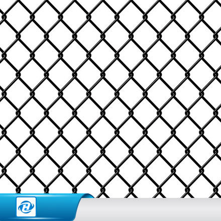 China PVC/Gi Coated Diamond Wire Mesh/Chain Link Fence for Garden ...