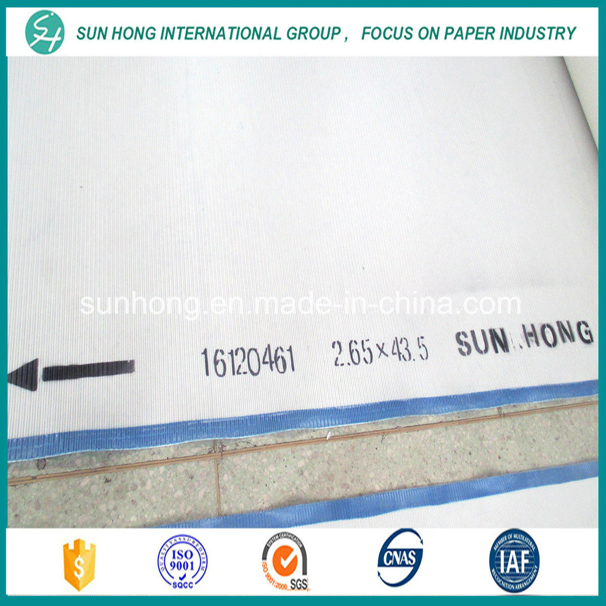 High Temperature Resistance Polyester Spiral Dryer Mesh Fabric for Paper Making /Dryer Mesh Screen pictures & photos
