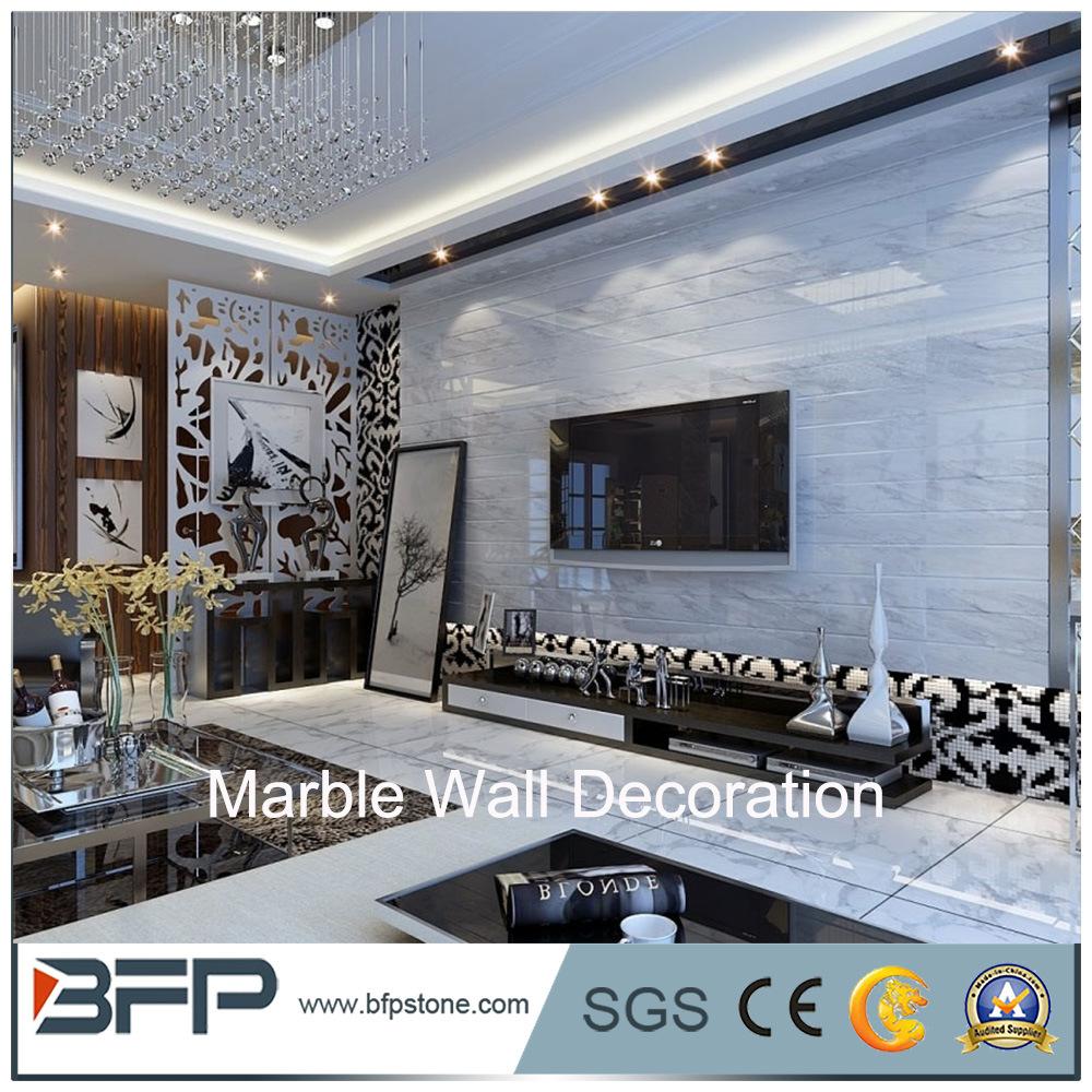 China High Quality Interior Wall Designs Natural Marble Wall Tile