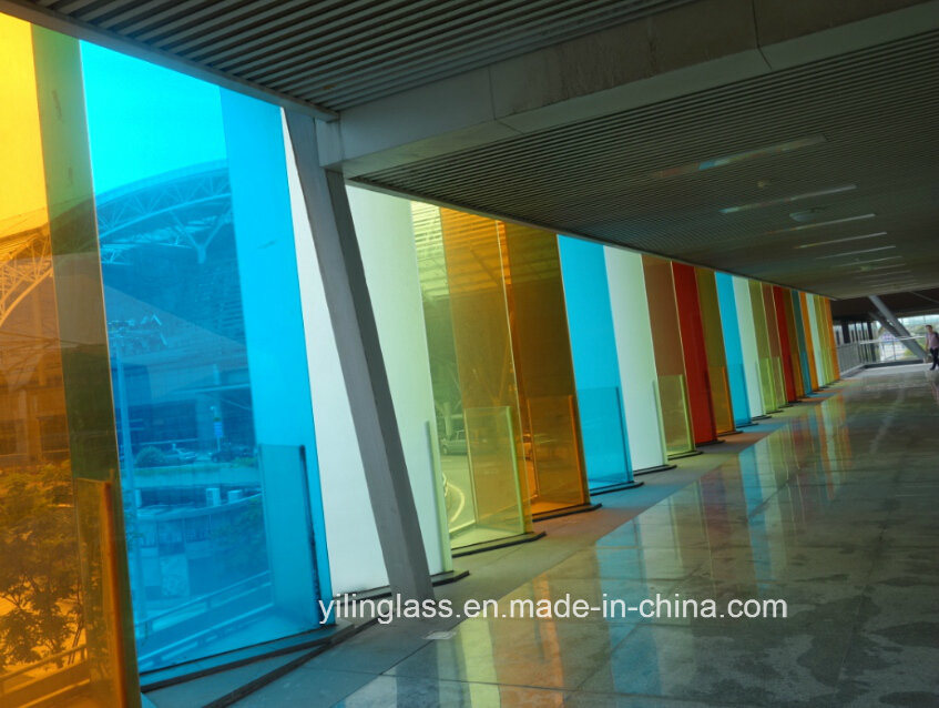 China Tempered Color Decorative Glass With Ce Sgcc Csi Certification