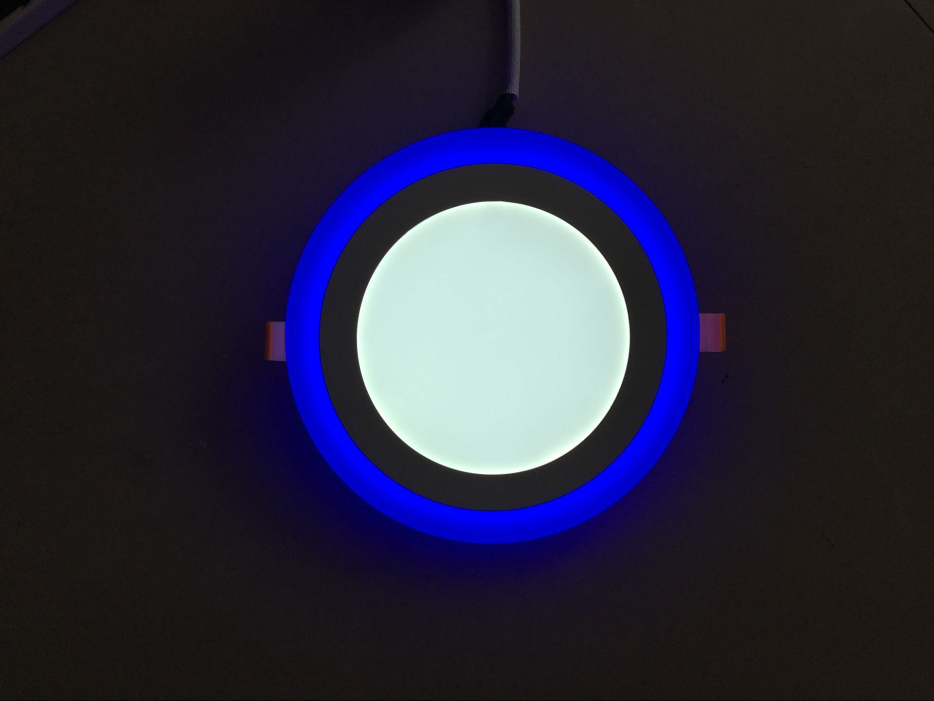 LED PANEL ROUND RECESSED CEILING DOWNLIGHT WITH BLUE White LIGHT 10W//15W//20W