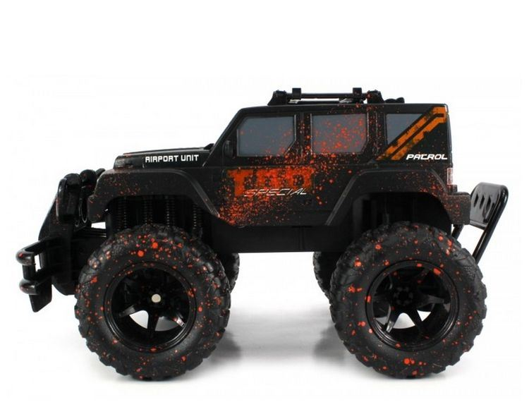 28281407-Velocity Toys Mud Monster Jeep Wrangler Electric RC Truck 1-16 pictures & photos
