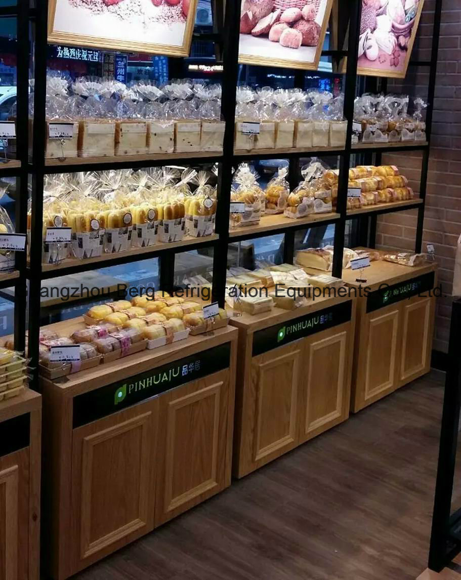 China High Quality Custom Made Wooden Style Bread Display ...