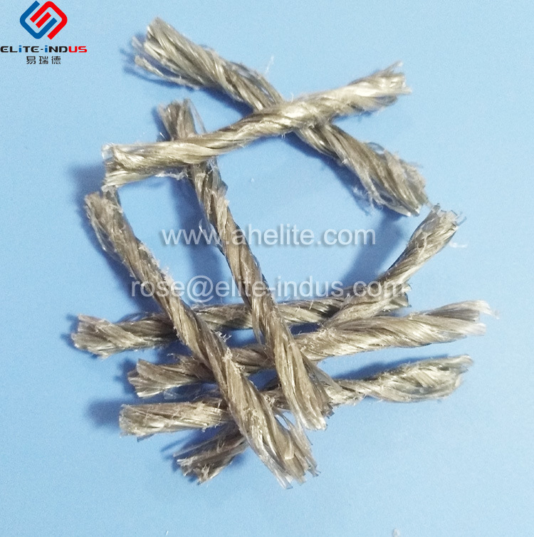 China PP Twisted Fiber for Concrete Reinforcement - China PP Twisted ...