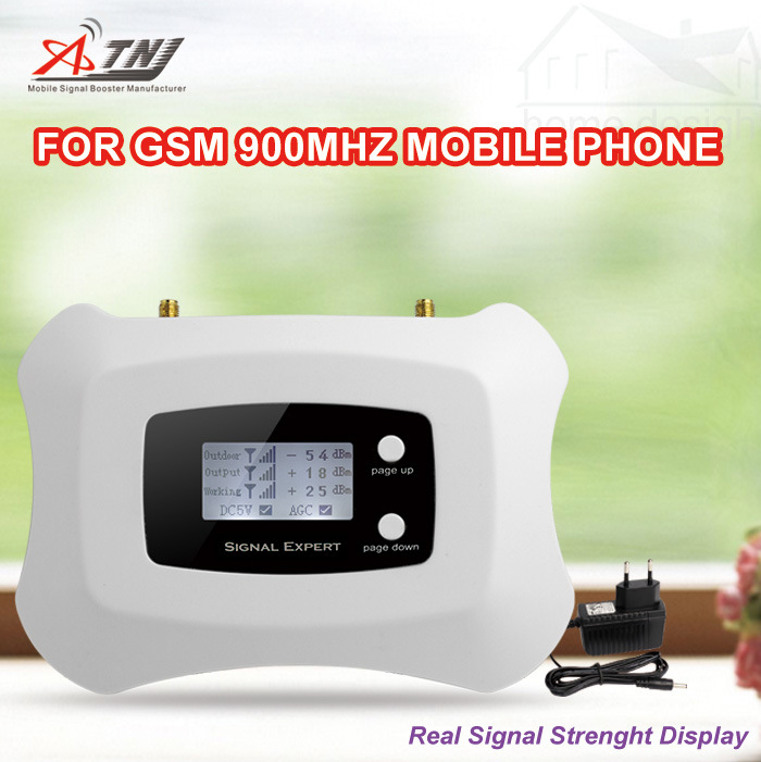 LCD Smart Display GSM 2g Signal Booster 900MHz Amplifier GSM Mobile Signal Repeater