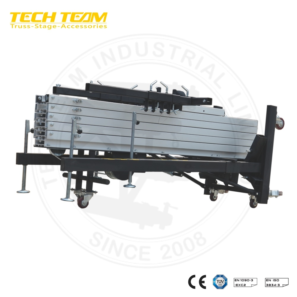 China Big Event Equipment Crank up Lifts Truss Tower Durable Line