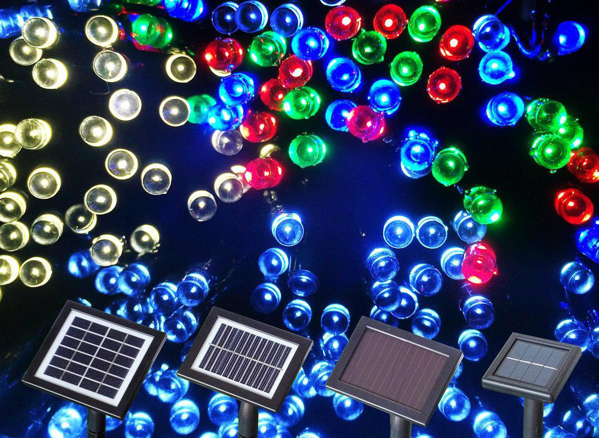 Solar Outdoor Christmas Lights.Hot Item Led Solar Christmas Lights For Outdoor Christmas Holiday Decorations