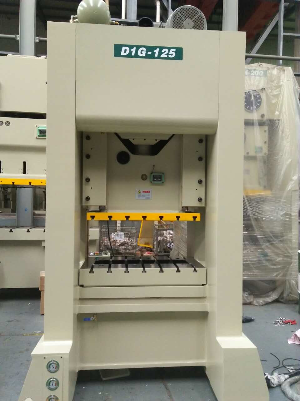 Single Crank High Speed Precision Power Press (D1G-125ton)