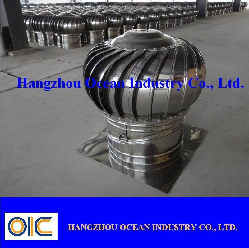 china stainless steel powerless roof turbine ventilator china roof turbine ventilator powerless roof ventilator - Roof Turbine