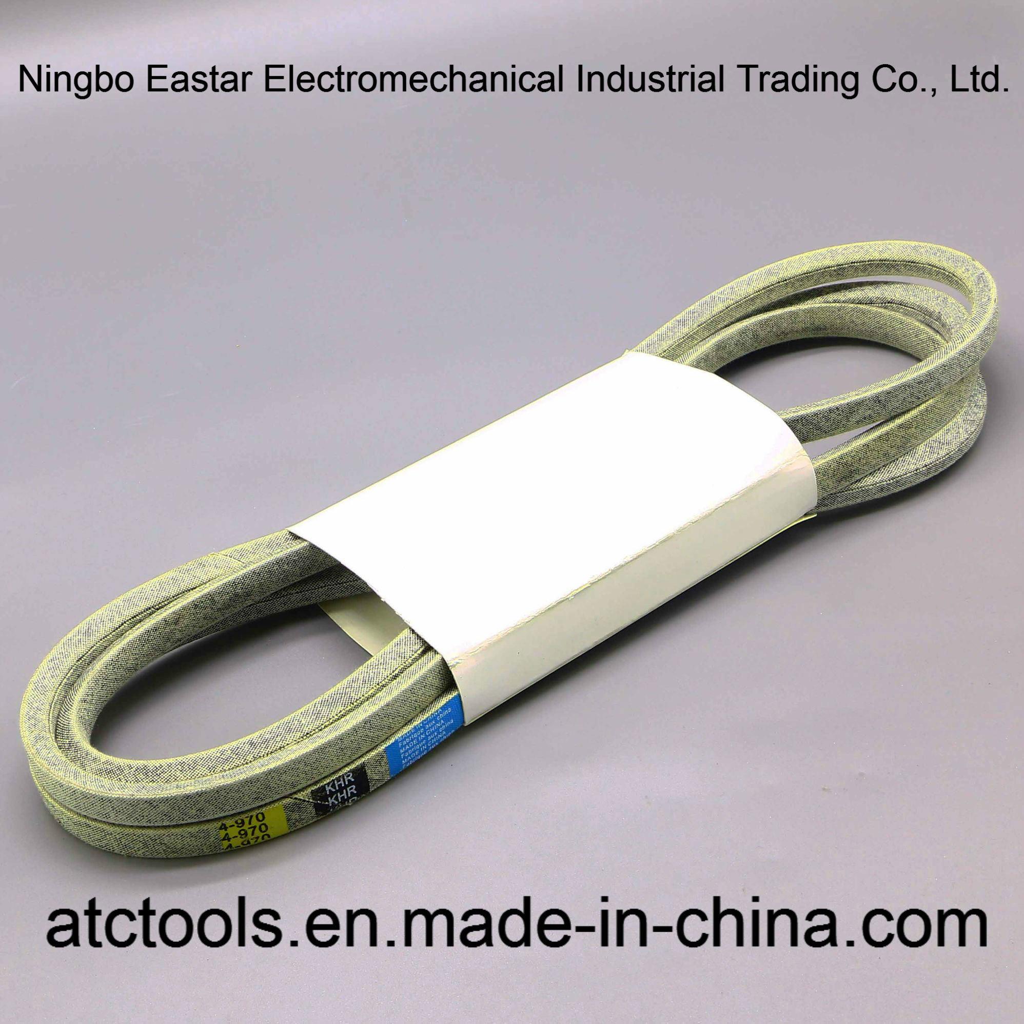 "Any Size You Need 4L Power Transmission V-Belt 1//2/"" Multiple Lengths"