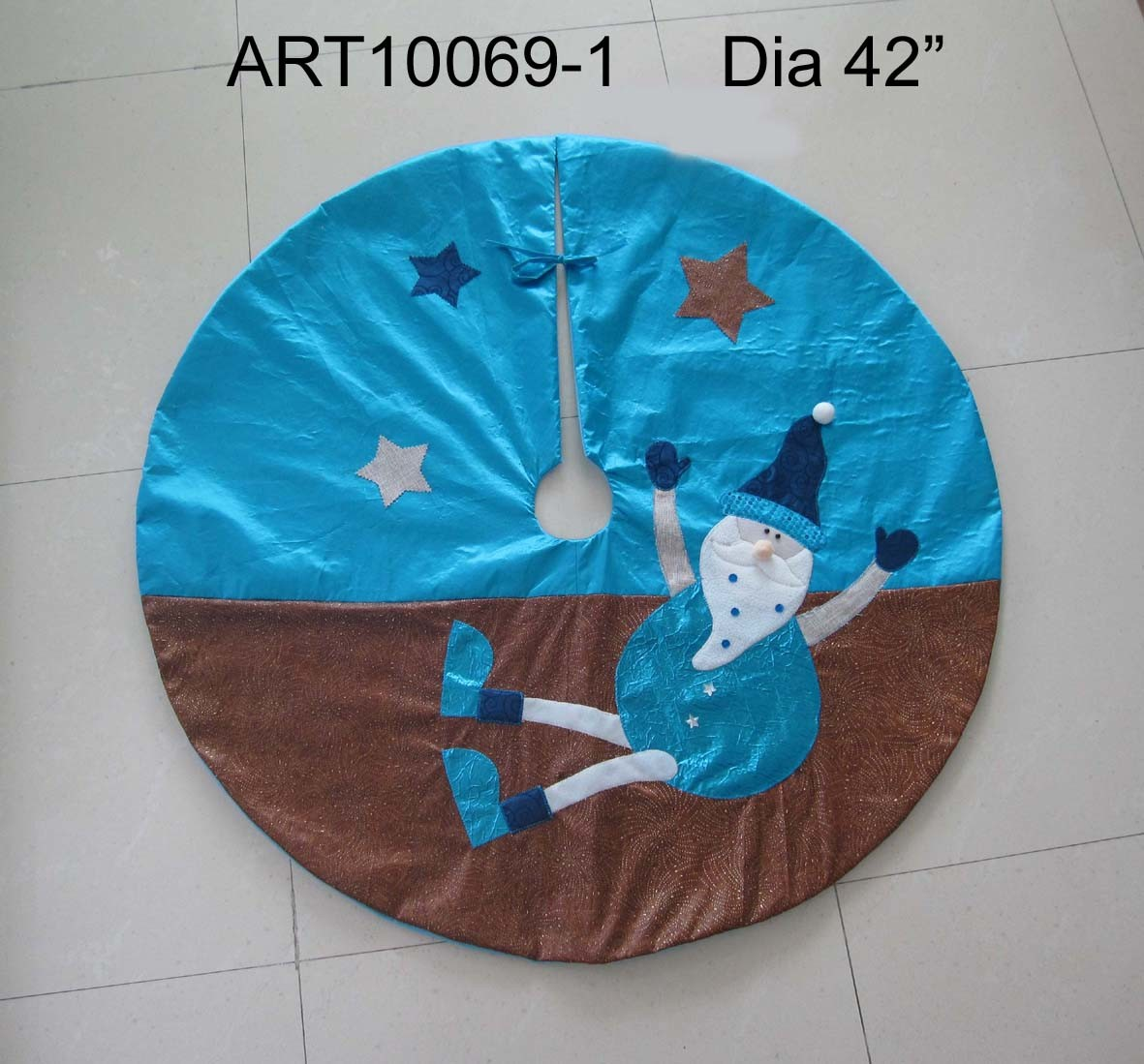 Christmas Santa Decoration Tree Skirt