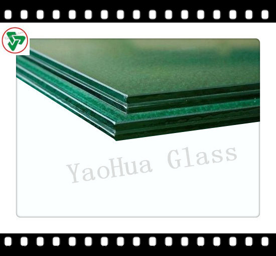 6.38-42.30mm Safety Laminated Glass for Building Glass