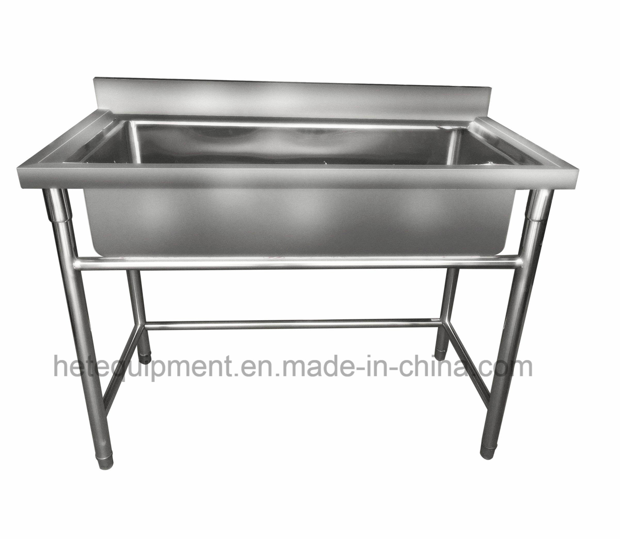 Industrial Kitchen Equipment Malaysia: China Good Selling Stainless Large Industrial Sink