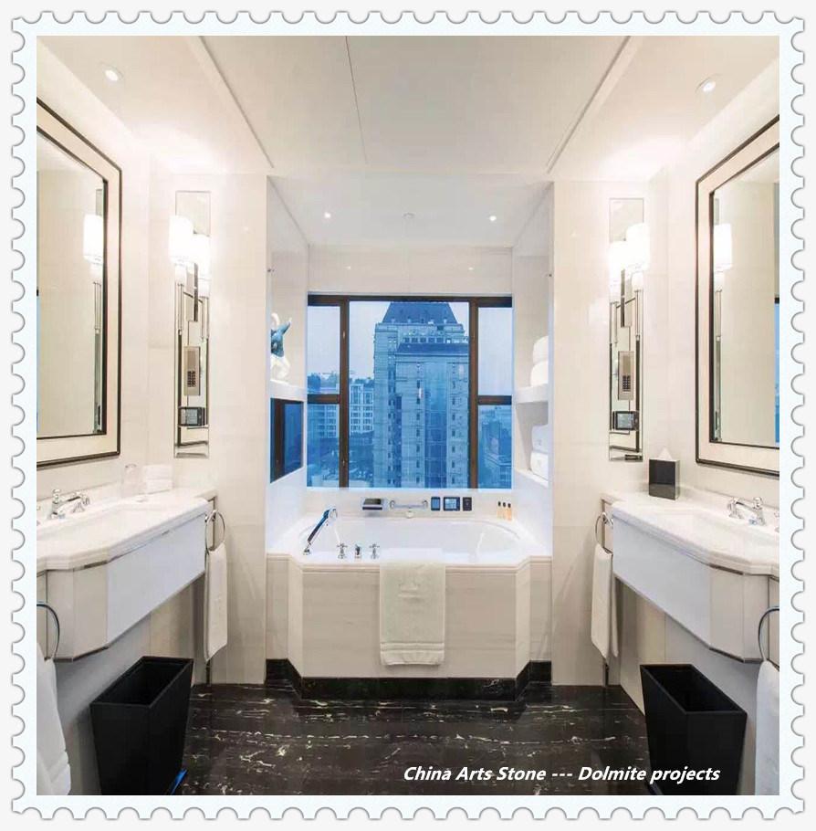 China Bianco Dolomite White Grey Beige Black Marble For