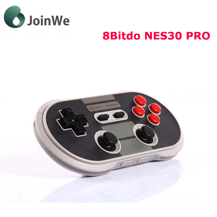 [Hot Item] 8bitdo Nes30 PRO Bluetooth Wireless Game Controller Full Buttons
