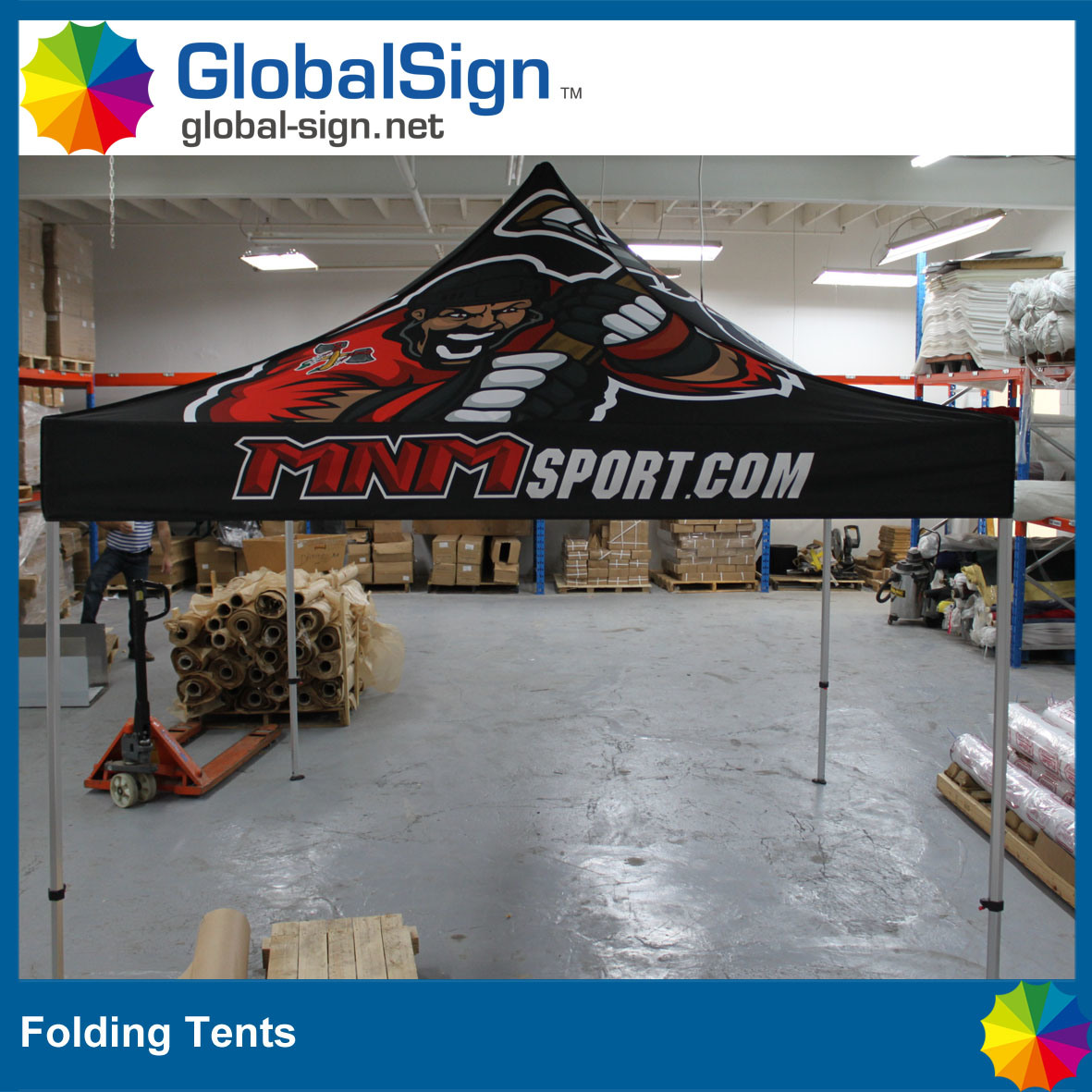 High Quality 3 M *3 M Advertisement Promotion Pop up Steel Folding Tent