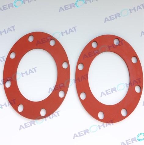 China Aeromat Factory Price OEM/ODM Silicone Viton NBR EPDM Flat ...