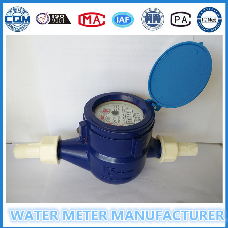 Multi-Jet Super Dry Type Plastic Water Meter pictures & photos