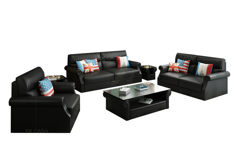 [Hot Item] Design Modern Leatheru Shaped Sectional Sofa Luxury American  Home Furniture