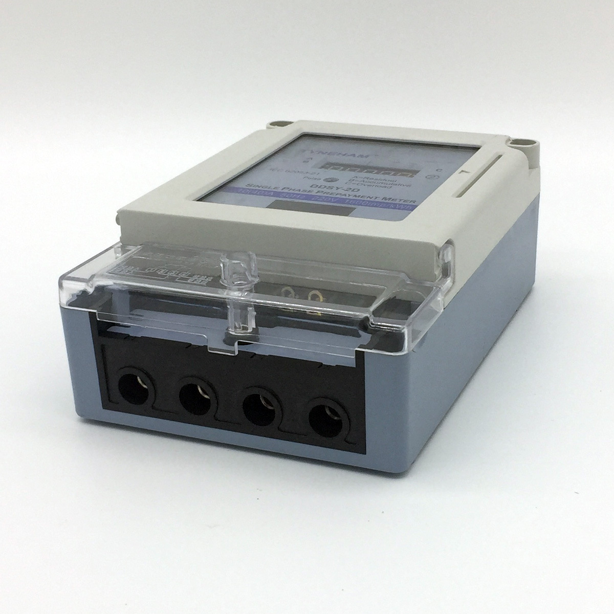 Ddsy-2D Series Single Phase Electric Prepaid Energy Meter pictures & photos