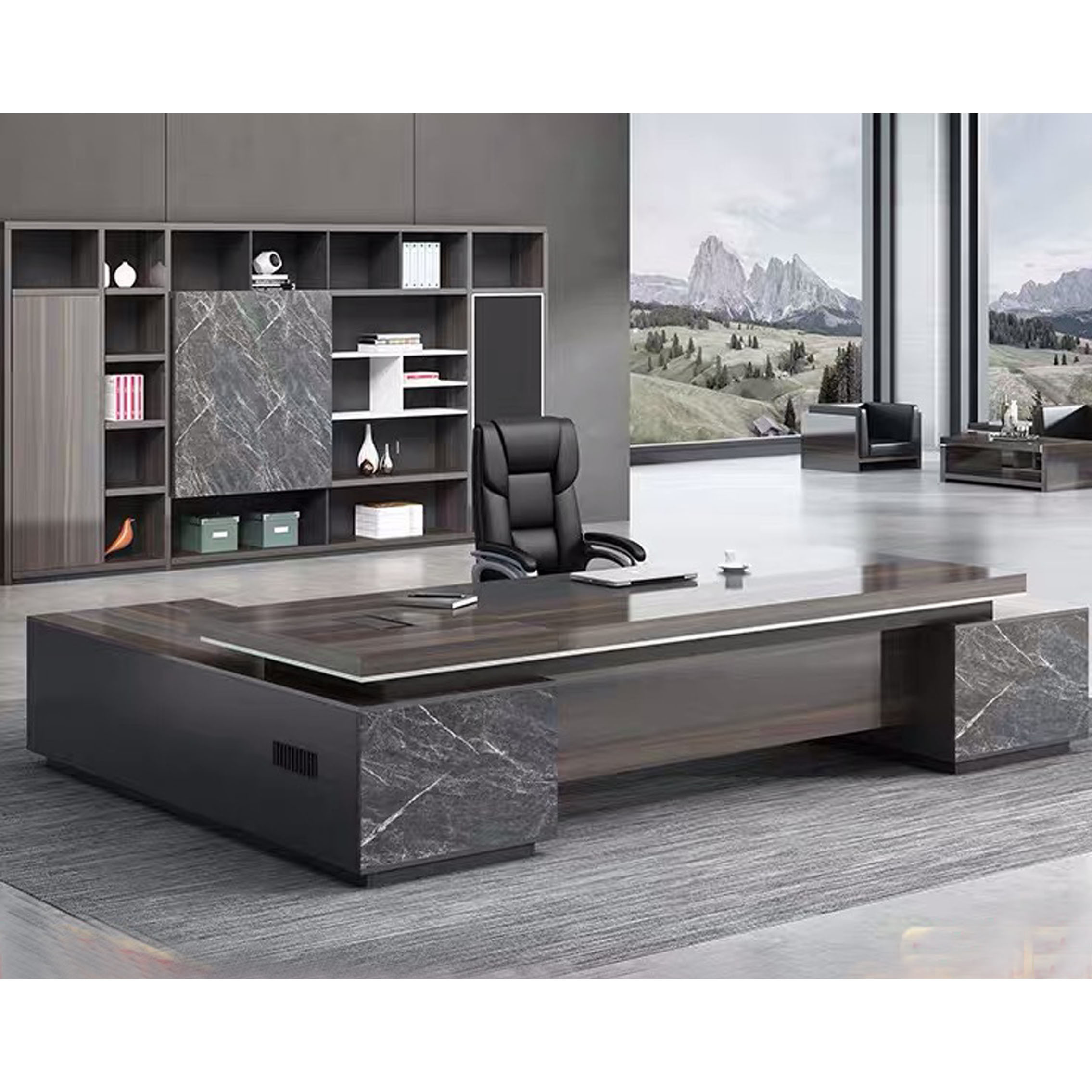 China Ceo Luxury Modern Office Table Executive Office Desk Commercial Office Furniture China Office Furniture Office Desk