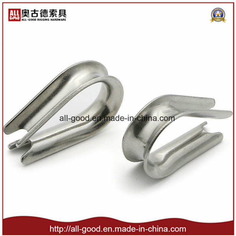 China Stainless Steel Commercial Thimble G411 Standard Wire Rope ...