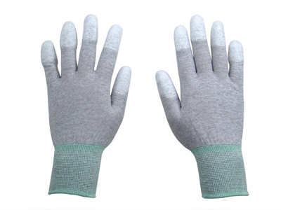 ESD Carbon Nylon PU Glove
