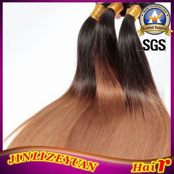 China T1b27 Ombre Virgin Peruvian Human Hair Extension Cheap Ombre