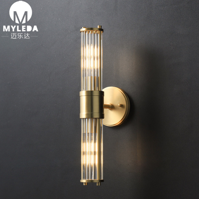 Simple Metal Led Wall Sconce Light