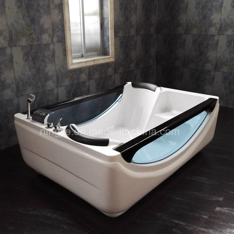 China Foshan Factory Direct Sales Acrylic Bathtub with Jacuzzi (505 ...