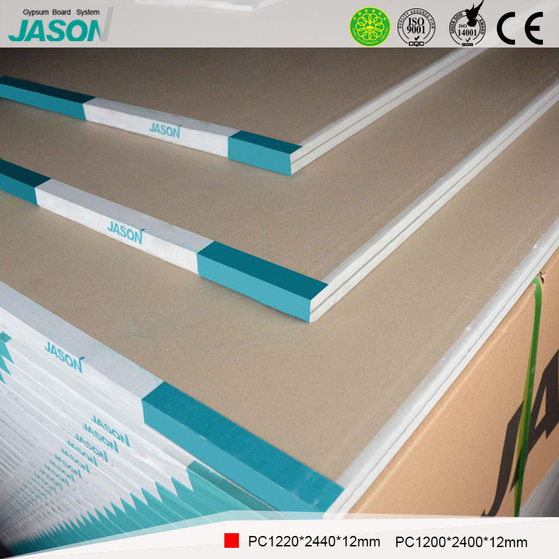 China Jason Gypsum Board For Ceiling Material 12 0mm