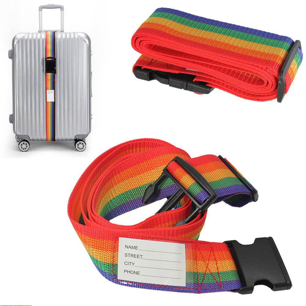 36033c153e1e [Hot Item] Polyester Luggage Bag Belt, Suitcase Secure Strap Belt, Luggage  Belt, Travel Bag Belt