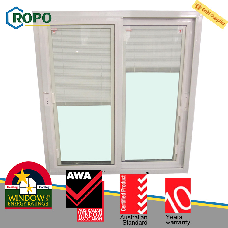 China Upvcpvc Plastic Sliding Window Door Blinds Inside Glass