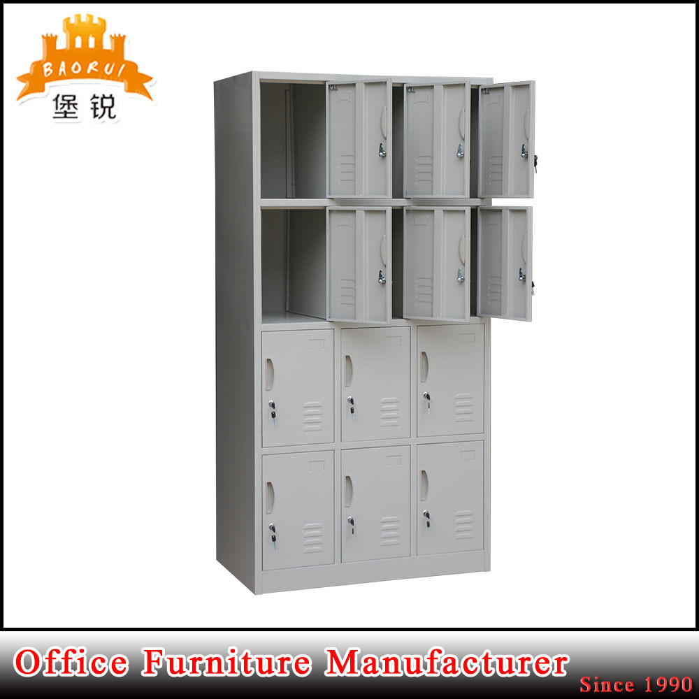 China powder coated 12 door steel office furniture metal cabinet locker china locker metal locker