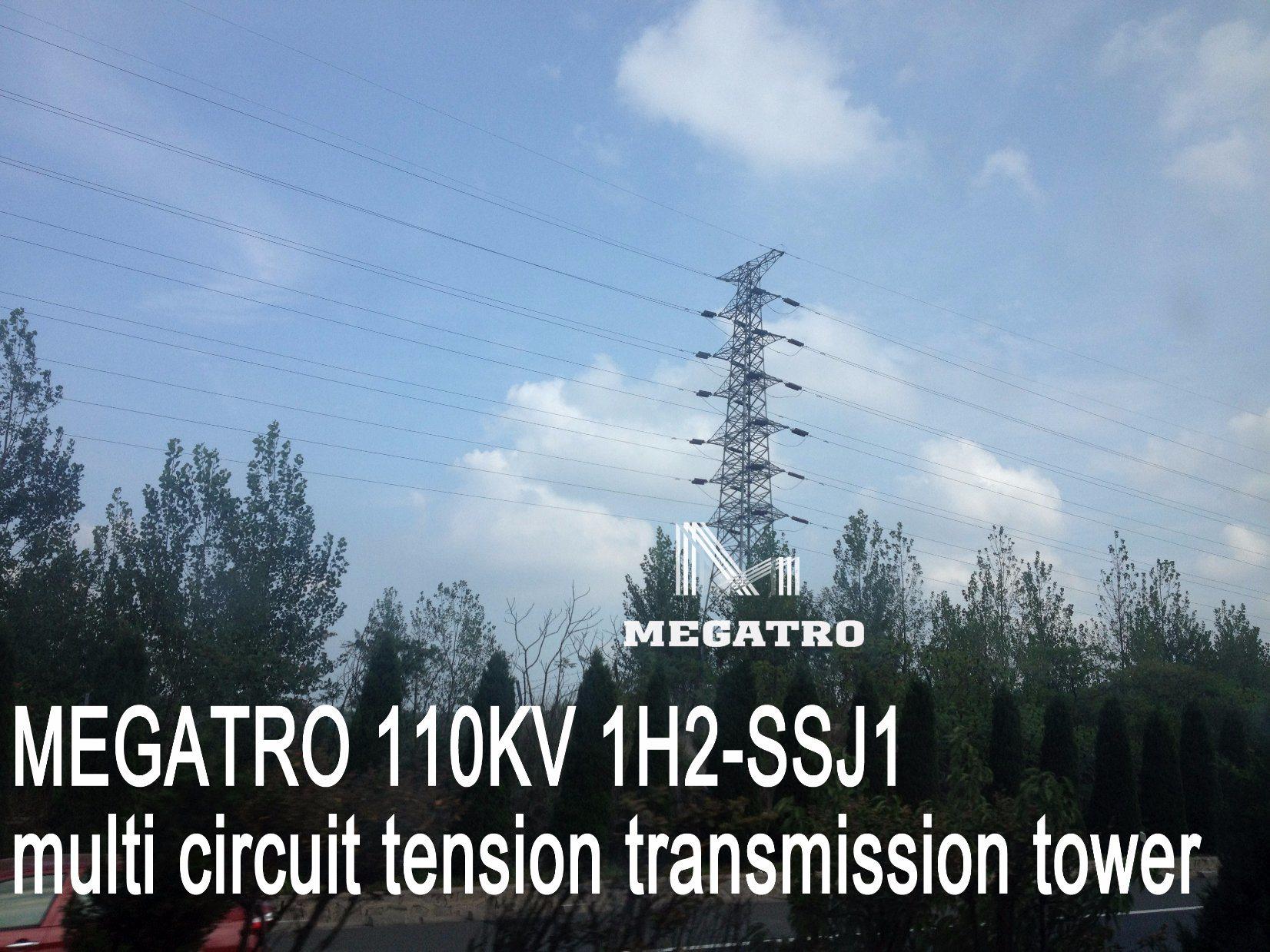 China Megatro 110kv 1h2-Ssj1 Multi Circuit Tension Transmission ...
