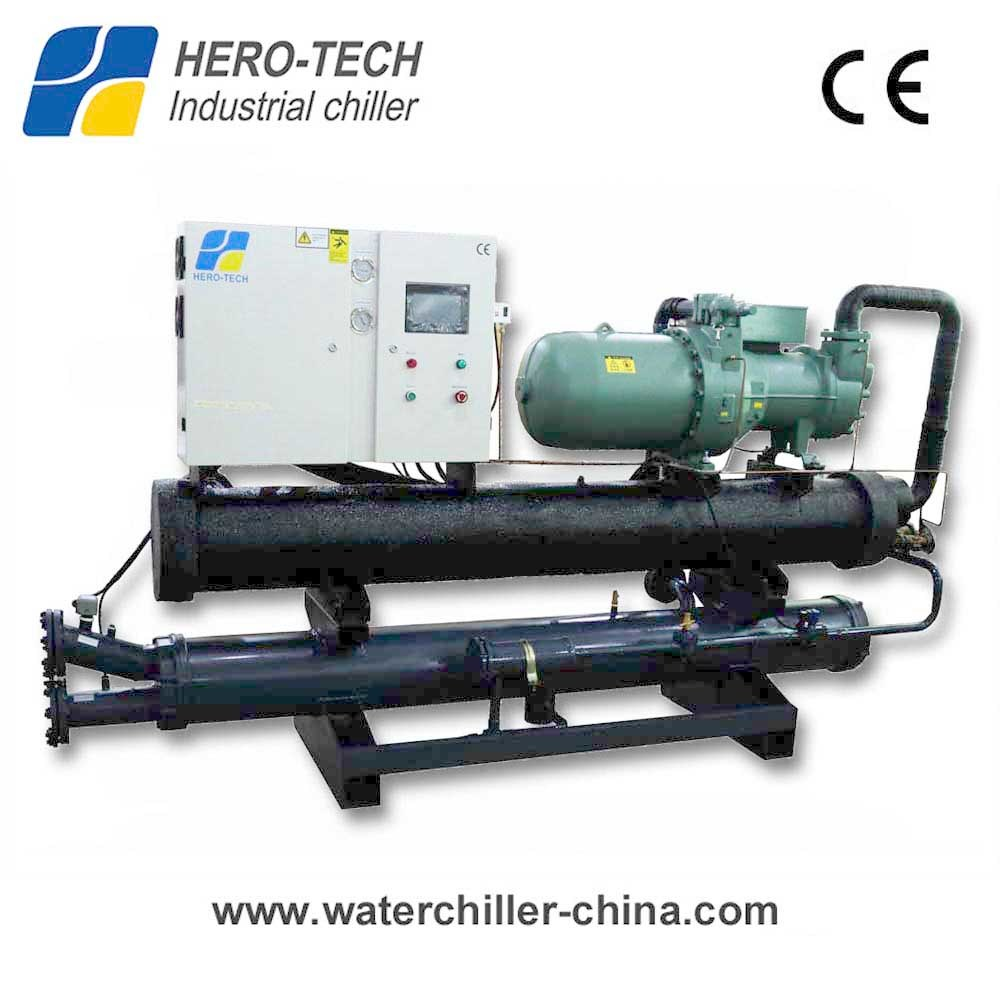 China 60ton Good Quality Water Cooled Screw Type Chiller