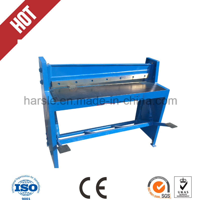 Q11 Foot Pedal Shearing and Cutting Machine for Metal Sheet pictures & photos
