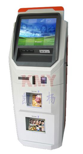 China Self-Service Payment Photo Booth Kiosk - China Photo Kiosk