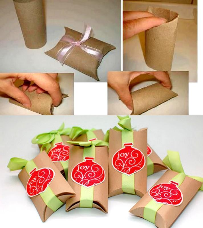 Hot Item Diy Simple Paper Gift Boxes Pillow Gift Boxes
