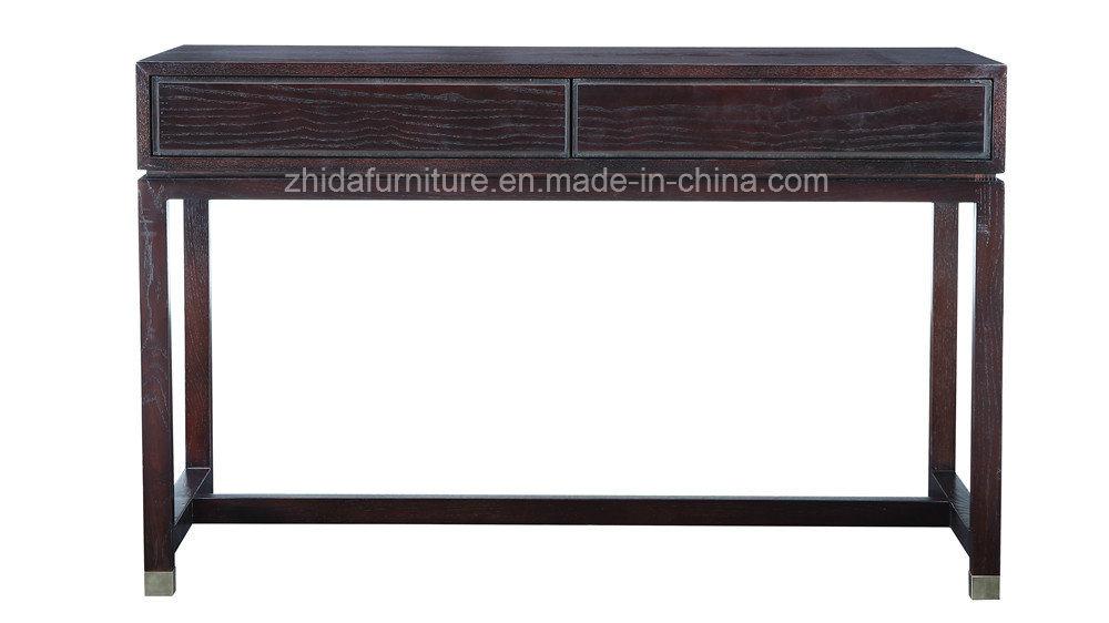 China Oriental Antique Furniture Black Color Study Desk - China Hallway  Desk, Oriental Furniture - China Oriental Antique Furniture Black Color Study Desk - China