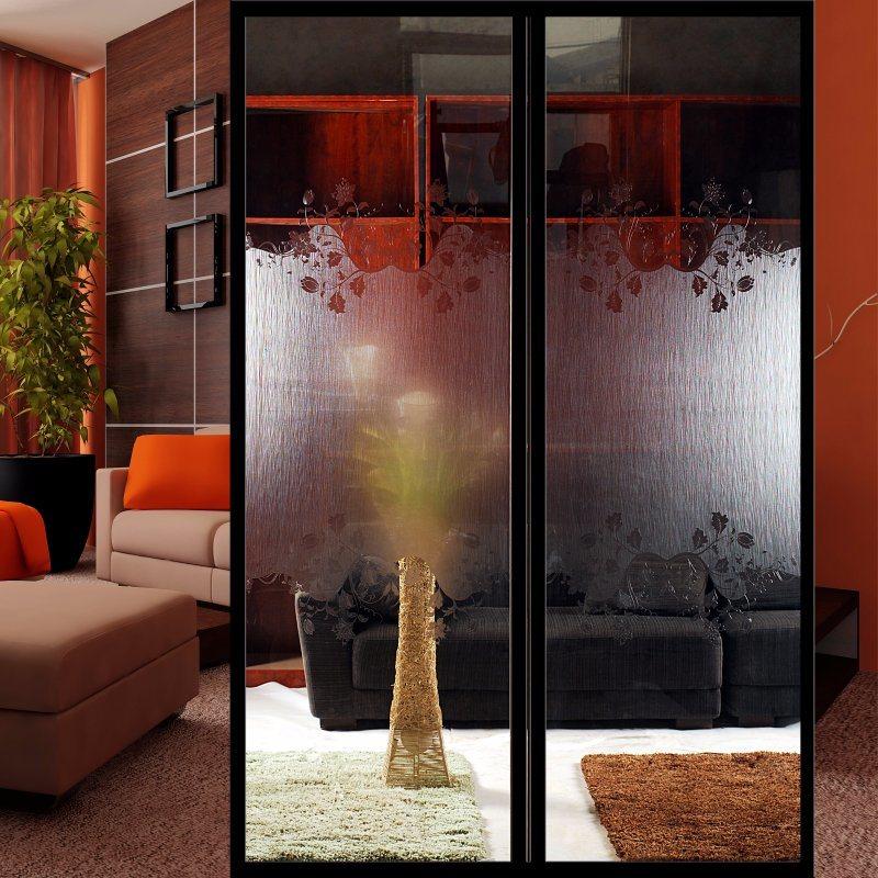 China Factory Decorative Art Glass Doors Glass Popular Glass Doors