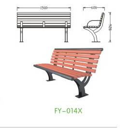 Brilliant Hot Item Simple Design Cheap Wholesale Hdpe Plastic Wood Street Bench With Backrest Fy 014X Uwap Interior Chair Design Uwaporg